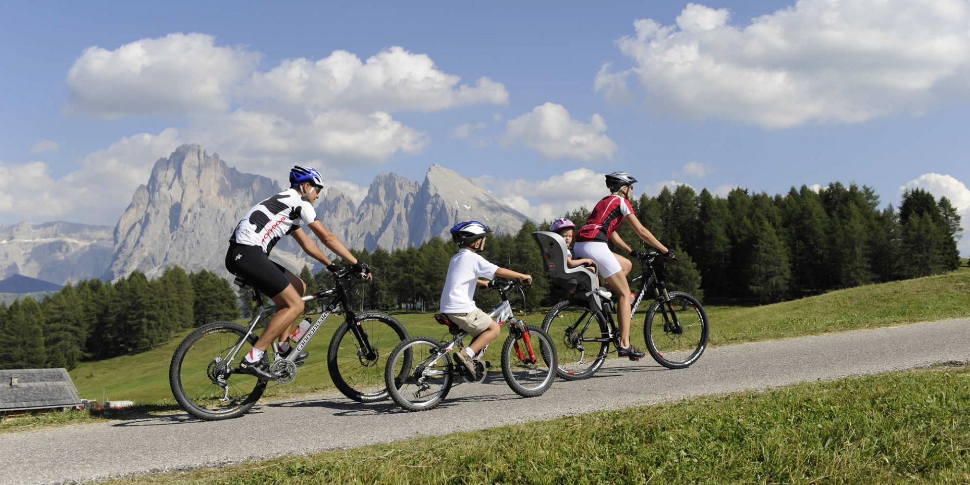 Radfahren Seiser Alm