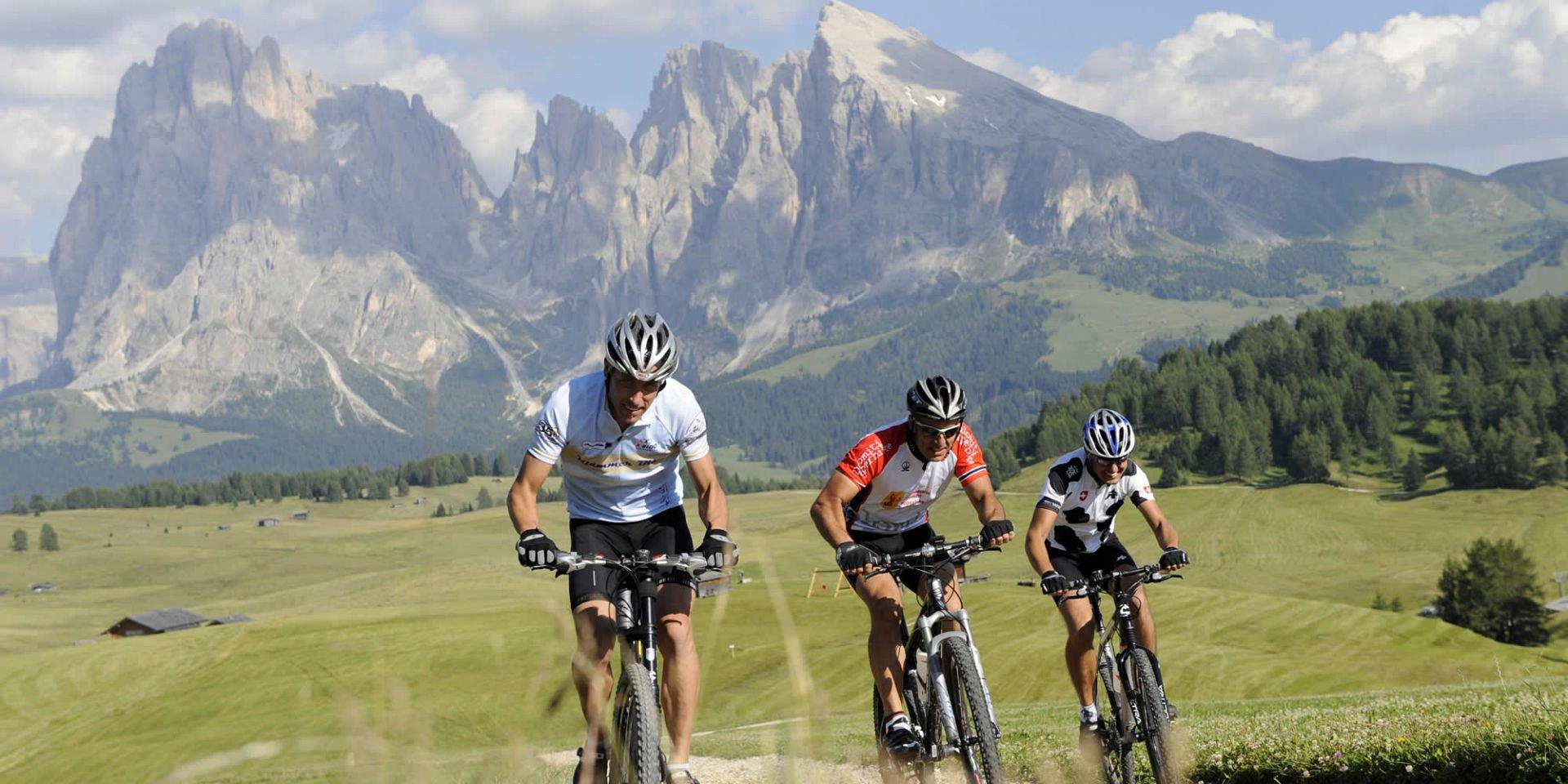 Bikeurlaub in Südtirol - Kastelruth ist Ihr Startpunkt