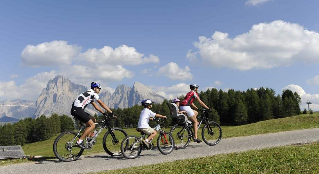 Bike holidays in South Tyrol - Kastelruth is your starting point