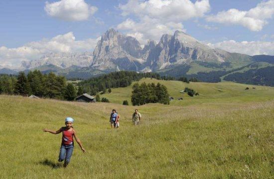 Escursionismo sull'Alpe di Siusi 1
