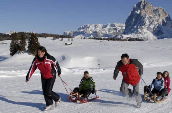 vacanza sugli sci Alpe di Siusi 1